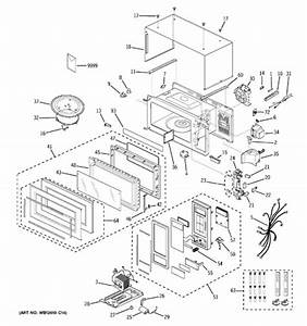 Ge Profile Spacemaker Microwave Parts