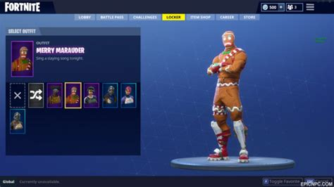 merry marauder skin possibly making  return