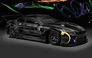 2017 BMW M6 GT3 Art Car by Cao Fei - Wallpapers and HD