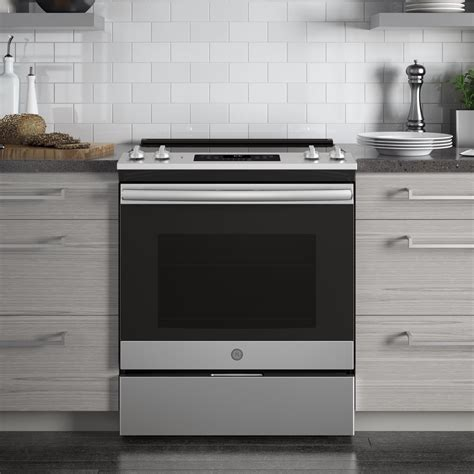 jsslss ge    electric range  power boil