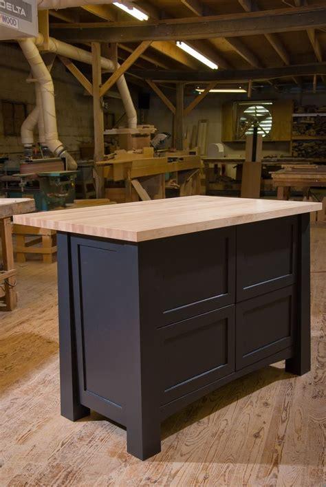 handmade kitchen island crafted custom kitchen island by against the grain