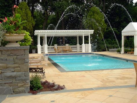 Patio And Pool Deck Ideas by Luxury Swimming Pool Spa Design Ideas Outdoor Indoor Nj