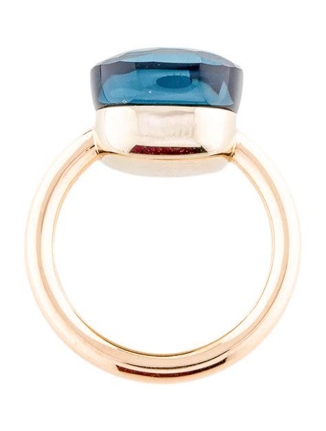 nudo pomellato ring pomellato 18k topaz maxi nudo ring rings pom20693