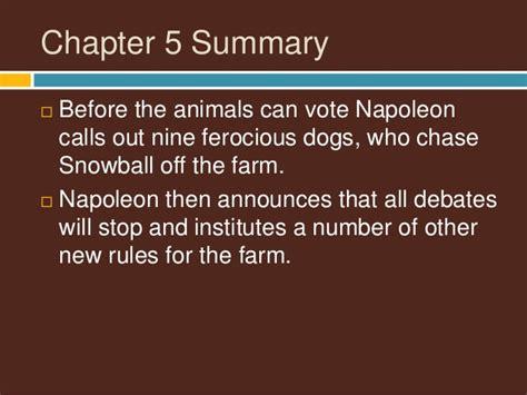 animal farm chapter