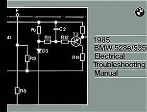 1985 Bmw 528e 535i Electrical Troubleshooting Manual Wiring Diagrams 528 E 535 I