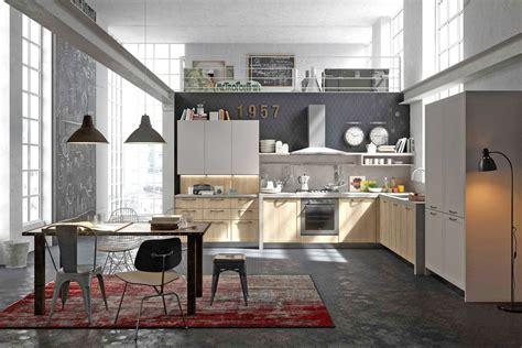bureau industriel metal bois cuisine style design industriel idéal pour loft ou grande