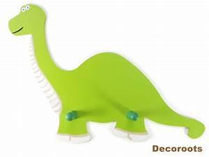 Porte Manteau Bébé : porte manteau dinosaure diplodocus vert enfant b b ~ Melissatoandfro.com Idées de Décoration
