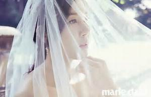 Bride-to-be actress Kim Ha-neul is a goddess of pure white ...