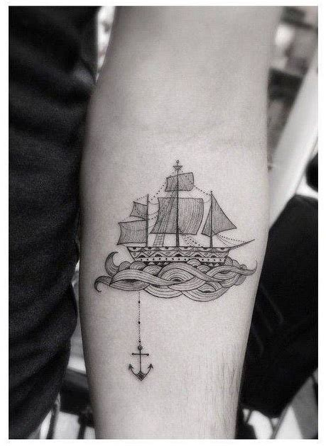 Sailboat Tattoo Meaning by Boat Tattoos Designs Ideas And Meaning Tattoos For You
