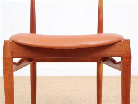 chaise danoise chaise danoise en teck galerie møbler