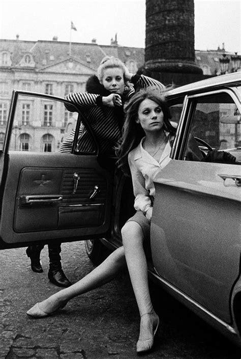 francoise dorleac pinterest catherine deneuve and fran 231 oise dorl 233 ac in paris 1965