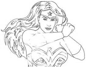 Wonder Woman Coloring Pages Printable
