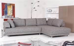 sofa stoff grau ewald schillig ecksofa stoff grau meliert ebay