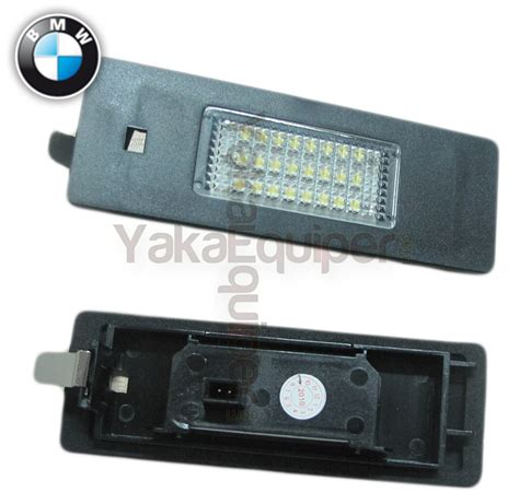 pack led plaque immatriculation bmw serie    en