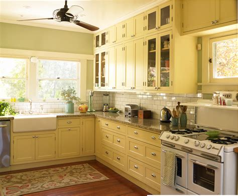 yellow kitchen colors popular paint colors for kitchens you can choose decohoms 1215