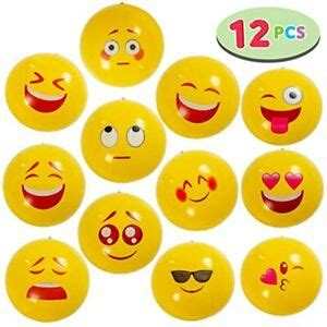 Maybe you would like to learn more about one of these? JOYIN Emoji Beach Balls 12 Pcs Combo Set In With Different ...