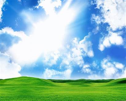Bliss Desktop Hills Rolling Sky Wallpapers Wallpapersafari