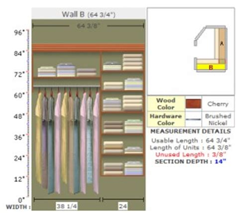ordering walk in closet materials from easyclosets