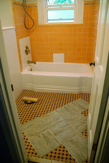 stick on tiles for bathroom walls bathroom redo grouted peel and stick floor tiles 25778