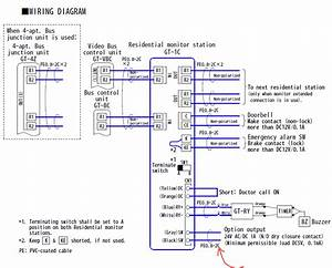 Wiring - Control The Door Release Function Of An Apartment Intercom