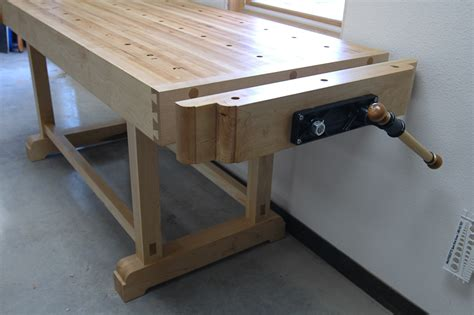 stonehouse woodworking blog archive maple work bench