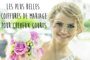 coiffure pour mariage cheveux courts coiffures de mariée coiffures de mariée cheveux courts album photo aufeminin