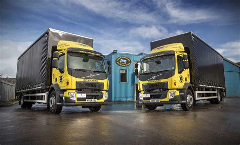 volvo fl  gvw rigids join caledonian logistics