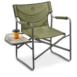 Outdoor Folding Lawn Chairs by Alps Creekside Foldable Camp Chair Green 236509 Chairs