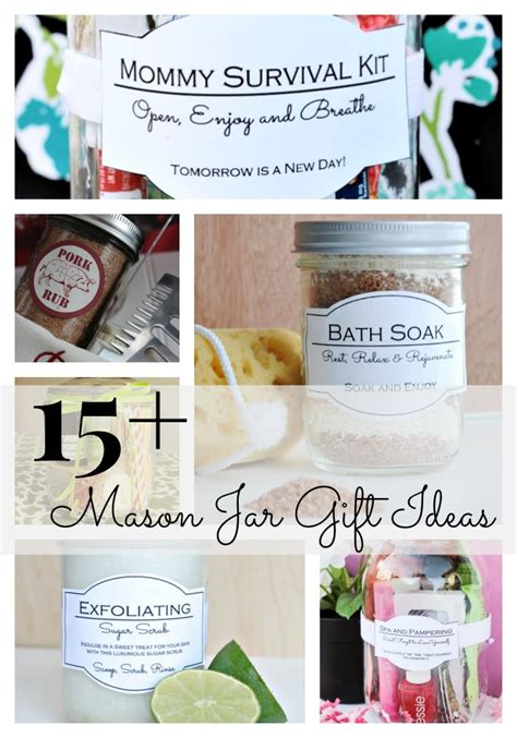 jar gift ideas 15 mason jar gift ideas classy clutter