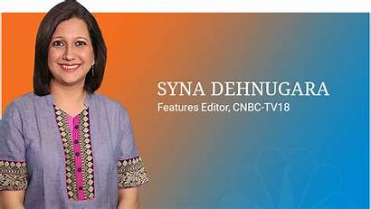 Syna Cnbc Anchors Anchor Tv Business Tv18