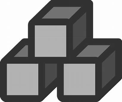 Blocks Clipart Stack Block Icon Clip 3d