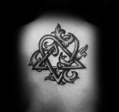Irish Tattoos Men heartagram tattoo designs  men symbolic ink ideas 600 x 564 · jpeg