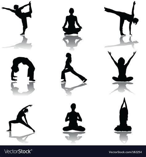 Free vector icons in svg, psd, png, eps and icon font. Yoga Royalty Free Vector Image - VectorStock