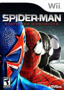 Spider-Man: Shattered Dimensions Nintendo WII Game