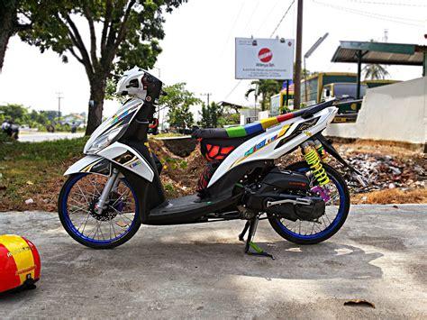 Modifikasi Motor Mio J by Mio J Modifikasi Simple Thecitycyclist