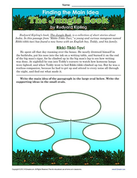 idea worksheets 2nd grade pdf teaching