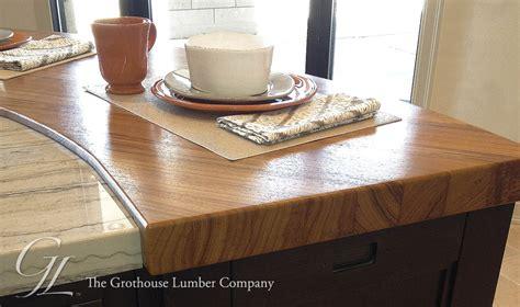 wood countertops denver custom teak wood countertop in denver colorado by grothouse