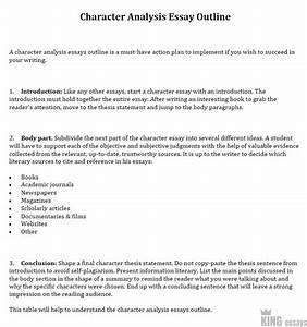 Thesis Statement In Analytical Essay