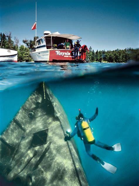 wreck dive lake superior michigan  american