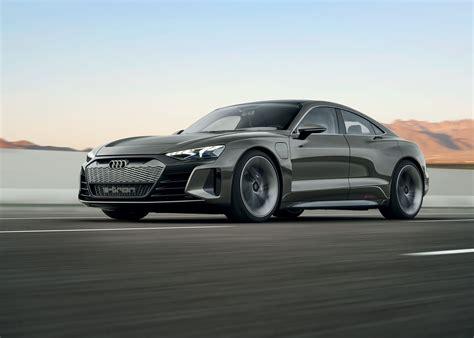 Stunning Audi E-tron Gt Concept