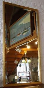 Miroir Doré Rectangulaire : miroir ancien de forme rectangulaire cadre dor ~ Teatrodelosmanantiales.com Idées de Décoration