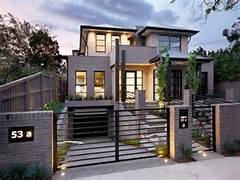 Photo Of A Concrete House Exterior From Real Australian Home House House Holman By Durbach Block Architects An Extension To The Sea History New House Making Exposed Timber Trusses Look Urban Modern Garden Design Sydney Impressions Landscape Design