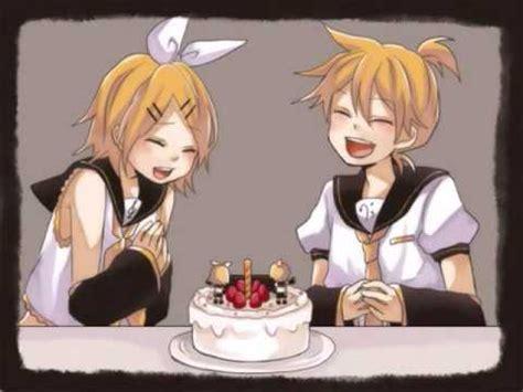 happy birthday kagamine rin and len