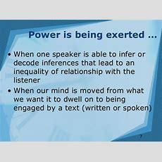 Language & Power Part 1
