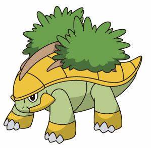 388. Grotle   Pokemon pokedex, Pokemon personajes y Pokemon go