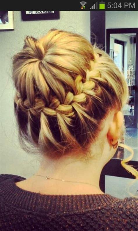 plait bun hairstyles pinterest plaits  buns