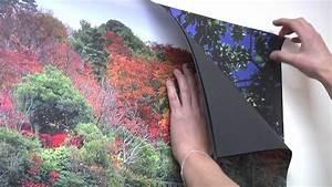 Papier Peint Magnétique : moove design paper papier peint magnetique youtube ~ Premium-room.com Idées de Décoration