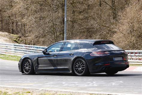 2017 Porsche Panamera Shooting Brake Spied Dropping Hot