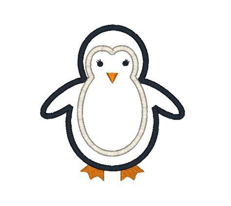 Penguin Applique Penguin Applique Design