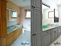 paint for cabinets Cabinet Refinishing 101: Latex Paint vs. Stain vs. Rust-Oleum Cabinet Transformations vs ...